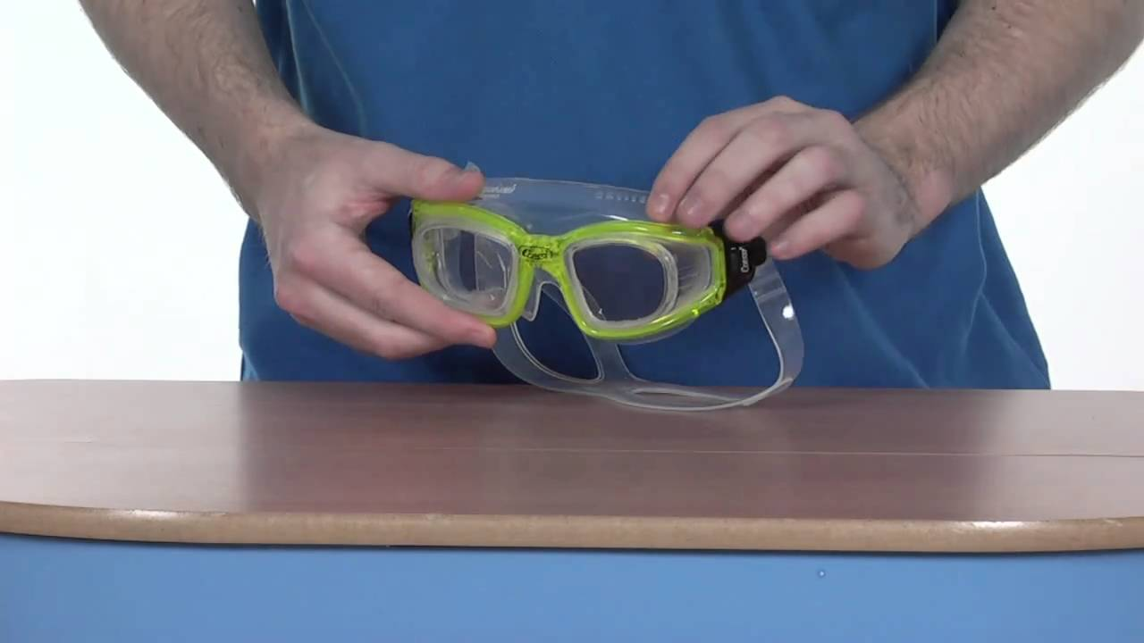 glass swimming goggles  Cressi Galileo Tempered Glass Goggle - www.simplyswim.com - YouTube