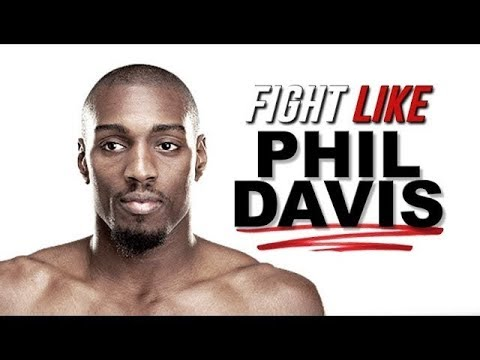 Phil Davis Shows Anaconda Choke & 2 Other MMA Moves