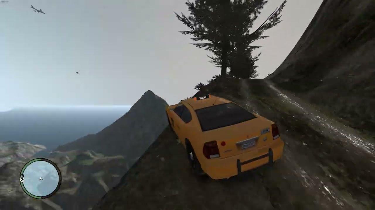 GTA 4 Cliff Drops & Jumps (GTA 4 Crashes/Ragdolls) #3