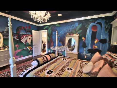 7495 Bridlespur Lane   Alice and Wonderland Bedroom
