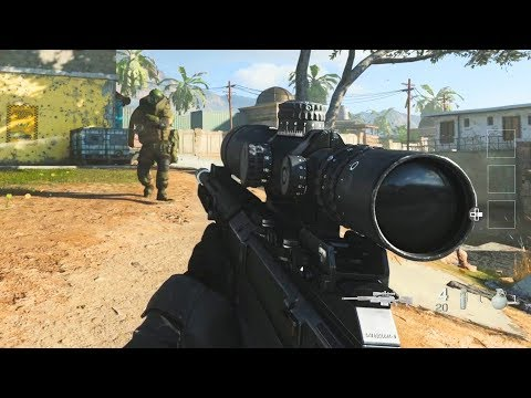 Modern Warfare Spec Ops: Survival Mode Gameplay (PS4 Exclusive)