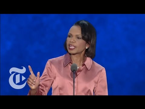 Condoleezza Rice's RNC Speech - Election 2012