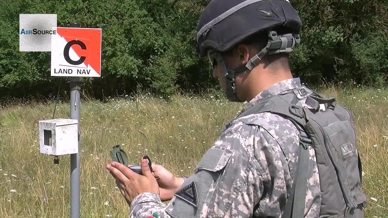U S Army Expert Infantryman Badge Land Navigation