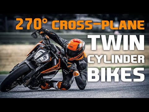 11 Of The Few Cross-plane 2-Cylinder Bikes Ever - YouTube