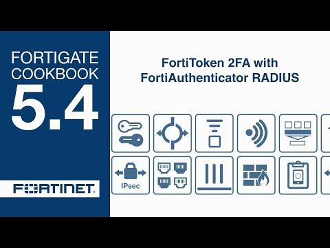 Cookbook - FortiToken 2FA with FortiAuthenticator RADIUS (5.4)