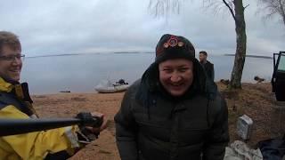 Рыбалка на Рыбинке поздней осенью Клёв щуки поймали чью то сеть Обкатали новый Патриот