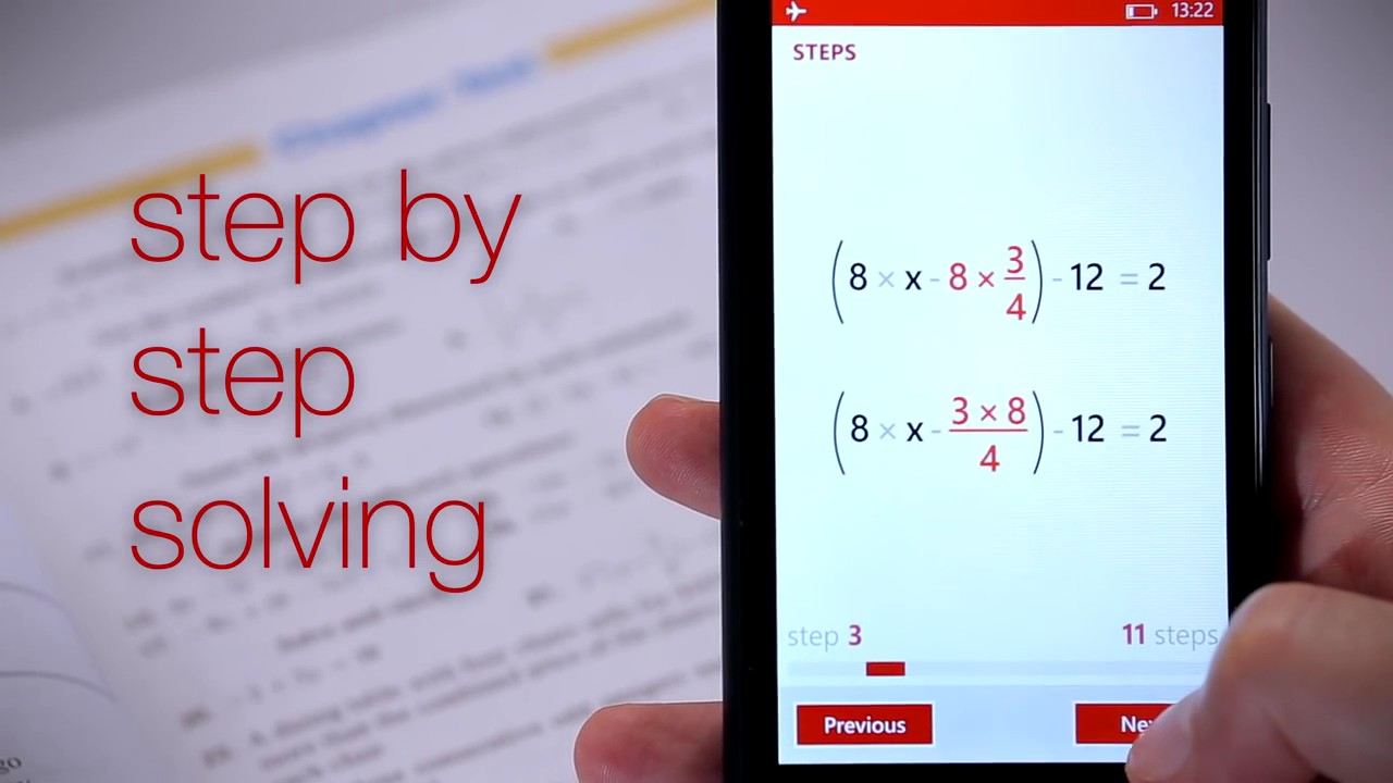 App solves math, by simply directing your smartphone camera at the