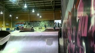 ryan's chill ride at monster skate park bmx
