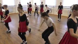Уроки марийских этнических танцев . Часть 3