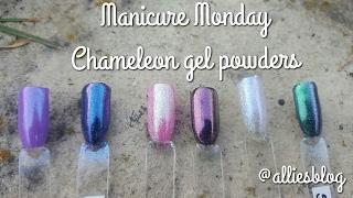 Manicure Monday | Born pretty store Chameleon powder test & review