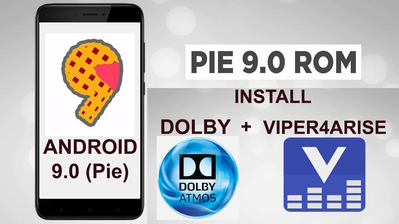 INSTALL DOLBY & VIPER4Android PADA ANDROID 9 Pie | 100% sukses