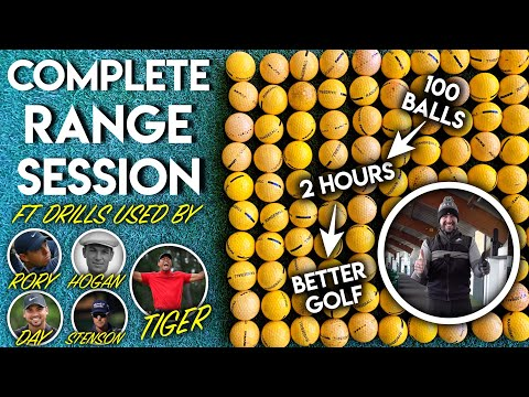 YOUR COMPLETE RANGE SESSION + Drills From Tiger Woods, Ben Hogan And Rory McIlroy