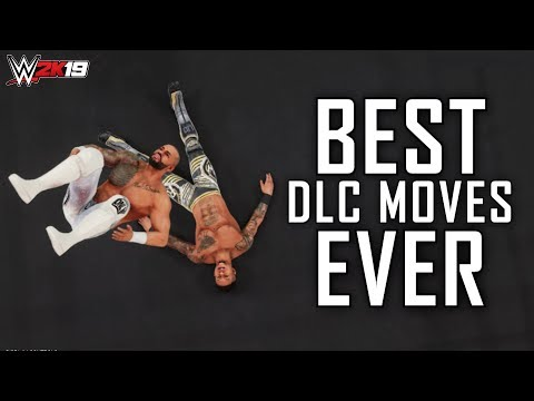 Every DLC Move In WWE 2K19 (150+ Moves)