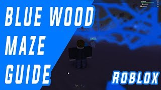 Blue wood Maze Road guide map(01-01-2018)Lumber Tycoon 2 Roblox