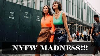 New York Fashion Week Gets Crazier! #NYFW | Laureen Uy