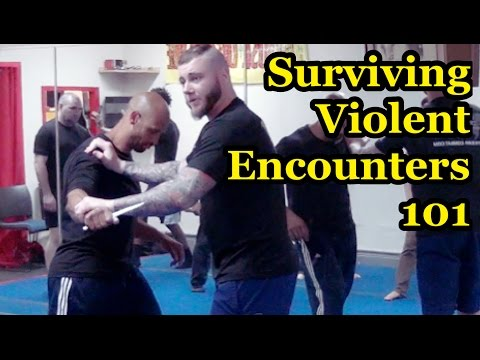 Practical Knife Defense & Simulation Training - Luke Holloway seminar in NYC