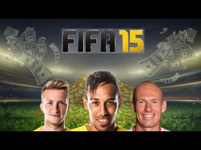Fifa 15 | 1 Million Coin Bundesliga Squad Builder