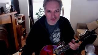 The Rose In The Heather (jig) on mandolin