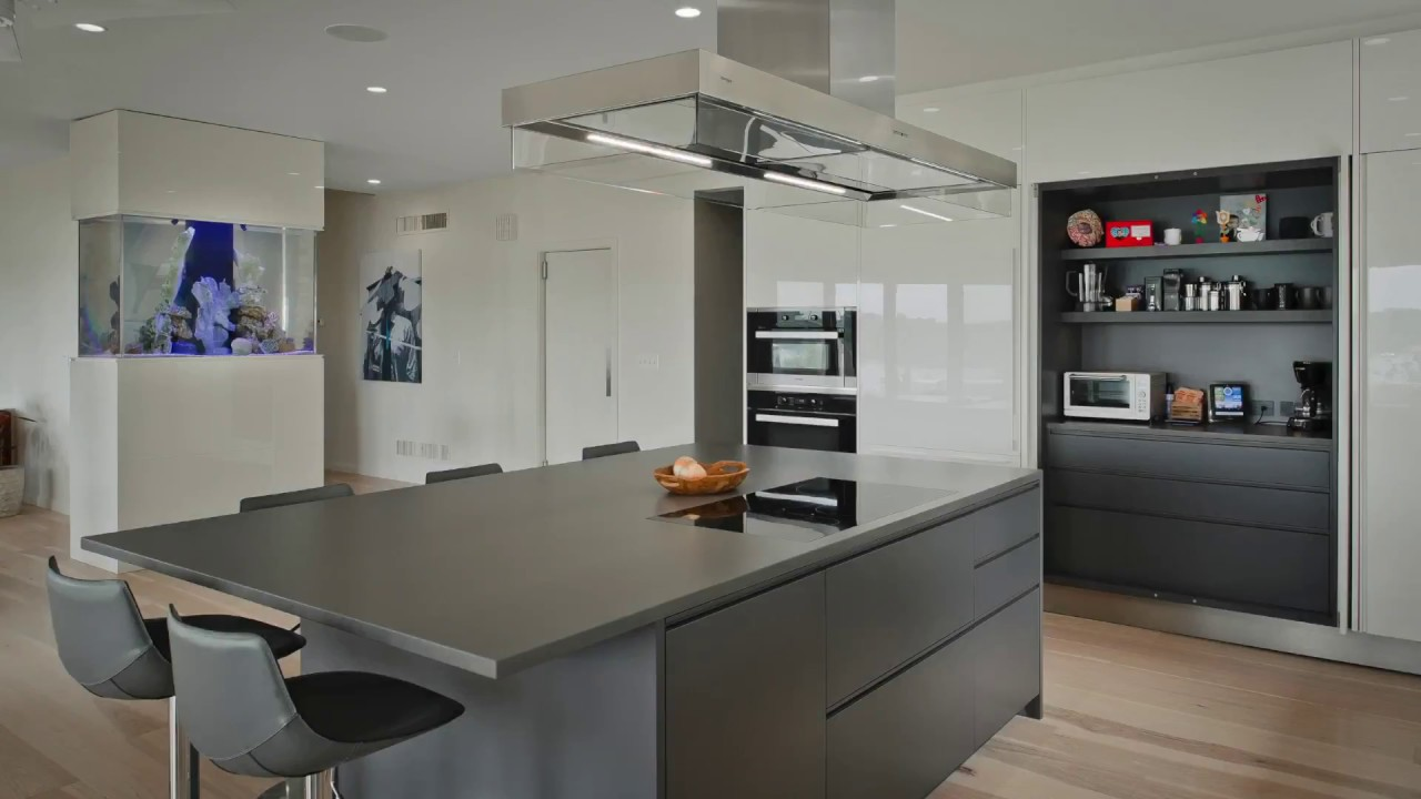 Contemporary Kitchen Pantry Youtube