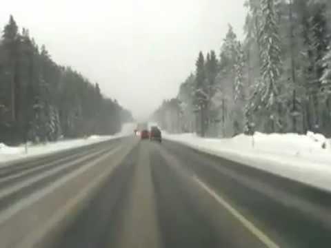 Fatal Head-On Crash with Tractor Trailer (Dash Cam)