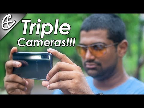 Samsung Galaxy A7 2018 - Triple Camera In-Depth Review!
