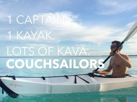 1 Captain. 1 Kayak. Lots of Kava. || COUCHSAILORS Sailing Journal #26