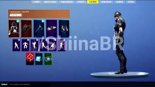 New LEAKED ARACHNE SKIN With FULL SET Coming To FORTNITE