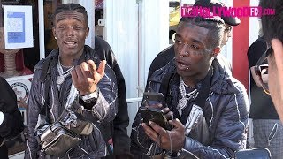 Lil Uzi Vert Speaks On The Release Of His New Album Eternal Atake While Greeting Fans On Melrose