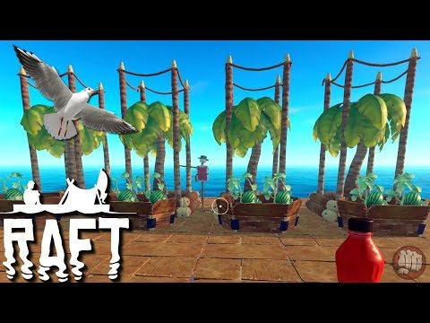 Digging In The Dirt | Raft Gameplay | S2 EP14 - YouTube