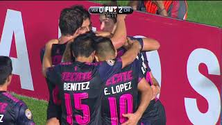 Liga MX | Veracruz 2-3 Chivas | Jornada 14