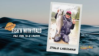 Spring Fishing & Boat Show - Fish'n with Italo!