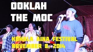 Ooklah the Moc at Kohala Aina Festival 2014