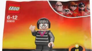 LEGO Edna mode Minifigure pictures