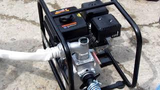 Обзор мотопомпы для полугрязной воды (Semi-Trash Pump) Кoshin STV-50x