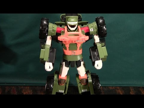 Tobot Adventure K Review (Young Toys 또봇)