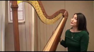 青山ハープ Orpheus46 演奏 Aoyama Harp
