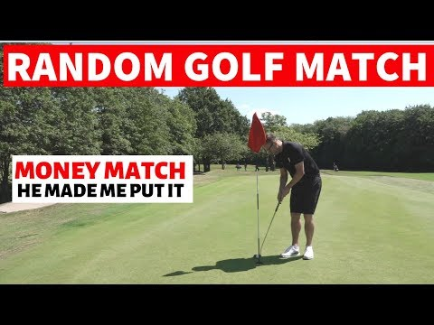 RANDOM GOLF MATCH WITH A GOLF MATE FOR MONEY
