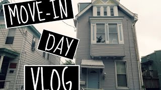 MOVE IN DAY VLOG: COLLEGE HOUSE EDITION