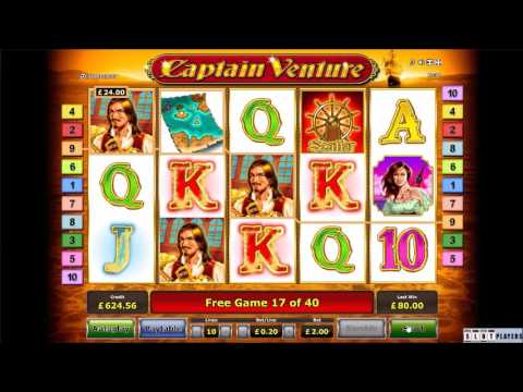 Captain Venture - Rizk Casino