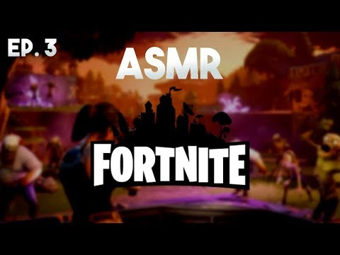 ASMR Gaming: Fortnite - Save the World! [Ep. 3] (Gum Chewing)