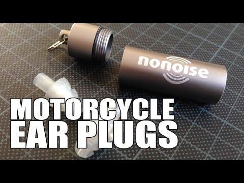 Best Motorcycle Ear Plugs - No Noise Motorsport