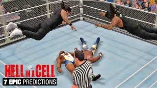 7 Epic Predictions for WWE Hell In a Cell 2017