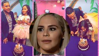 Lorenzo Méndez pasó el cumpleaños con su hija después de que su ex claudia dijiera lo contrario 3/16