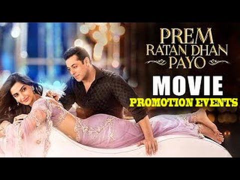 Prem Ratan Dhan Payo Movie [2015] | Salman Khan, Sonam Kapoor | Promotional Events