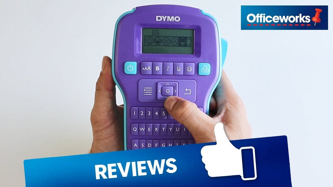 DYMO Colorpop Label Maker Overview