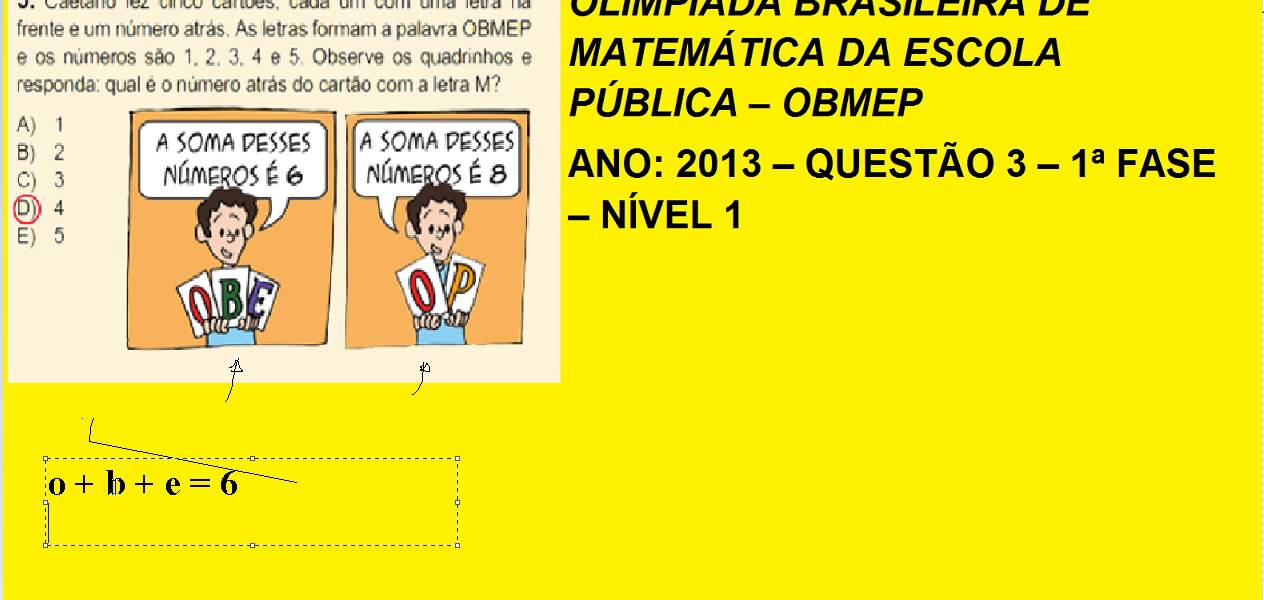 OBMEP 2013 PROVA PDF DOWNLOAD