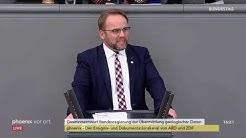 Geologiedatengesetz im Bundestag am 23.04.20