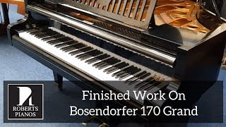 Download Finished work on bosendorfer 170 grand 1927 - please see other related s MP3 song and Music Video