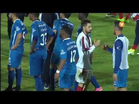 Feirense x Sp. Braga: Edson Farias agride Gamboa?