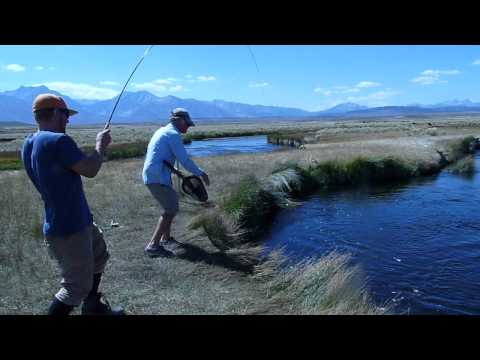 Fishing On The Owens River - The One That Didn't Get Away By Barbara L. Steinberg